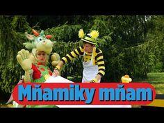 Smejko a Tanculienka - Mňamiky mňam - YouTube Mojito, Dinosaur Stuffed Animal, Christmas Ornaments, Holiday Decor, Eating Healthy, Animals, Body, Ms, Youtube