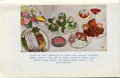 Un menú vegetaria del doctor Vander. Del seu llibre: Regimenes agradables, para sanos y enfermos. Barcelona: Librería Sintes, 1954
