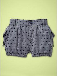 toddler girls bubble shorts