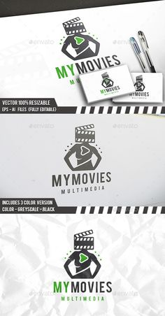 Film People Logo Template Vector EPS, AI. Download here: http://graphicriver.net/item/film-people-logo/12475576?ref=ksioks