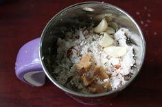 Coconut Chutney / Kerala Style Coconut Chutney / Keralan Coconut Chutney