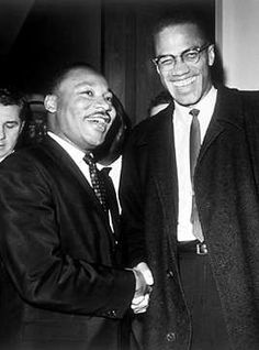 Malcolm X & Dr. Martin Luther King Jr