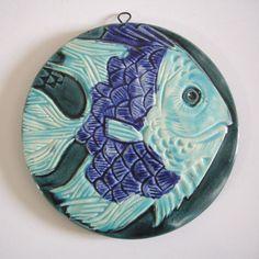 Lion Fish Lionfish Decorative Ceramic Wall Art Tile 4x4 CCWT