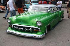 Nice green lowrider.