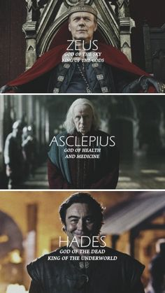 Merlin + Greek Gods 1/4