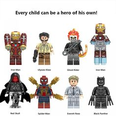 Captain Marvel, Marvel Avengers, Ms Marvel, Superhero Series, Captain American, Avengers Characters, Lego Minifigs, Best Kids Toys, Children Toys