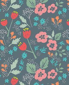 print & pattern: DESIGNER - erica sharp floral`~