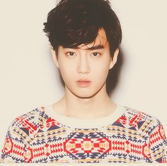 suho from EXO. He has such a soft emotional face <3