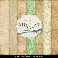Sunday's Guest Freebies ~ Far Far Hill ***Join 2,070 people. Follow our Free Digital Scrapbook Board. New Freebies every day.