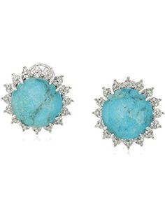 Mia Diamonds 925 Sterling Silver Rhodolite Garnet Earring Jacket 17mm x 17mm