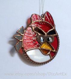 Angry Birds для фанов. Подвеска. Цветное стекло. от DizArtEx