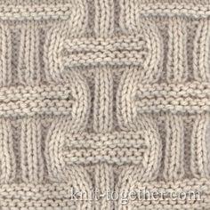 Wicker Stitch Pattern 1