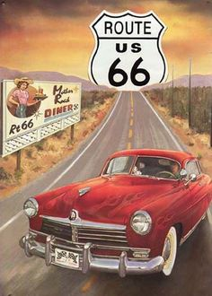 Setter – The Flying Squirrel - F. -Trend Setter – The Flying Squirrel - F. Vintage Signs, Vintage Ads, Carros Vintage, Route 66 Sign, Vintage Travel Posters, Illustrations And Posters, Photomontage, Pin Up Girls, Pinup
