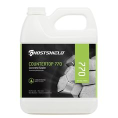 Ghostshield 16 oz. Concrete Countertop Sealer and Water Repellent with Stain Resistance, Clear/Natural