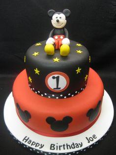 Mickey cake idea.