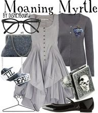 Moaning Myrtle fashion from The Harry Potter Series