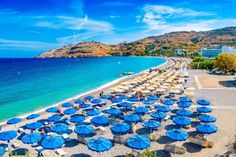 Rhodes Island Greece, Ancient Myths, Stormy Sea, Small Ponds, Famous Places, Old City, Rhode Island, Cool Places To Visit, Beautiful Beaches
