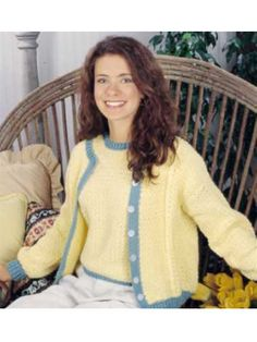 Buttercup Cardigan Set Free Pattern from Free-Crochet.com