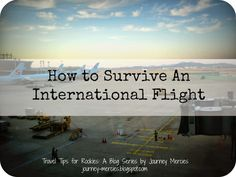 #Hawaii isn't exactly international, but depending on where you're coming from, it can still be a grueling flight. Here's how to survive the lengthy trip.