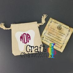 Natural Canvas Tooth Fairy Bags – CraftChameleon