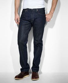 501® Original Fit Jeans  These are the best jeans ever. Not too tight, not too loose, just right!