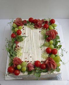 Sandwich Cake, Sandwiches, Yummy Cakes, Nom Nom, Cocktail, Baking, Vegetables, Recipes, Instagram