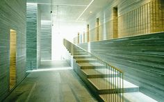 When I visited this Thermal Bath complex in Switzerland back in 2008, it even exceeded my expectations. It was designed by Swiss architect Zumthor back in the '90's and still stands as a masterpiece. Pure serenity.