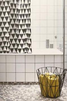 Shower curtain - triangle
