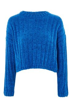 Chenille Cropped Jumper