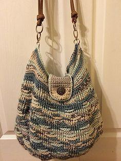 Waterfall Handbag Free Crochet Pattern By Merri Purdy Market Bag Tote