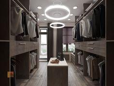 Closets minimalistas por Студия Павла Полынова