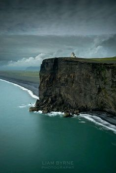 Sea cliff, Iceland