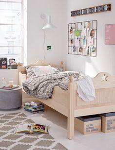 Lassen Sie sich von unserem Landhausbett mit Stern verzaubern! Entdecken Sie jetzt die Massivholz-Betten bei car-Moebel.de!