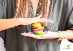 Hambúrguer de frutas | Marketinho.com