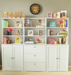 How to Decorate Your Shelves with Items You Already Own - This makes it so easy!