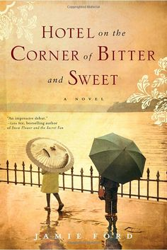 Great book; about a Chinese-American boy growing up in Seattle during WWII -- love story against the odds, very cute