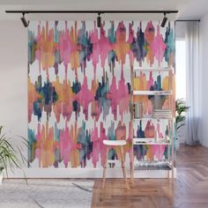 Buy Peony Balinese Ikat Wall Mural by huntleigh. Worldwide shipping available at Society6.com. Just one of millions of high quality products available.