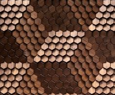 Timber Alexander by Giles Miller Studio Giles Miller Surface Design: Using Texture and Reflection as a Means of Illustration Pattern Texture, 3d Texture, Surface Pattern, Wood Patterns, Textures Patterns, Print Patterns, Motifs Textiles, Hexagon Tiles, Hexagon Quilt