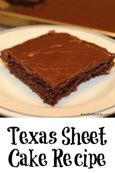recipe: texas sheet cake with cinnamon [9]