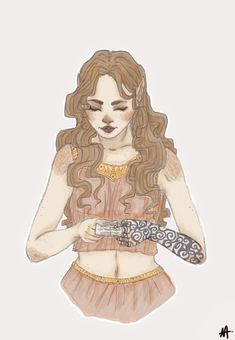 """Looove this Feyre fanart! (I had WAY too much fun writing all these moments in ACOMAF) """"Note from the mate"""" by Noukette"""