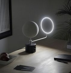 MOON: A Lunar Mood Light Based Upon NASA Data The moon has long inspired designers around the globe as muse, the latest being, MOON, a collaborative creation between designer Oscar Lhermitte and London-based design studio, Kudu.