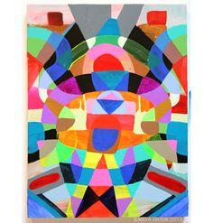 Maya Hayuk Maya Hayuk, Graffiti, Street Art, Art Themes, Pattern Art, Psychedelic, Painting & Drawing, Amazing Art, 2d