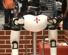 De zorg - robot Amigo.