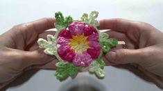 Flor Bella em Crochê   Manyélly