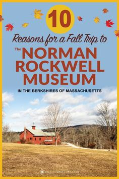 See the world's largest collection of Norman Rockwell original art, Saturday Evening Post covers, and other memorabilia. You'll find it all at the Norman Rockwell Museum in Stockbridge, Massachusetts! Usa Travel Guide, Travel Usa, Canada Travel, Travel Guides, Travel Tips, Spain Travel, Travel Hacks, Thailand Travel, Travel Packing