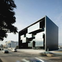 Prosecutor's Office building by Architects of Invention in Tbilisi, Georgia. Office Building Architecture, Architecture Office, Beautiful Architecture, Architecture Design, Office Buildings, Glass Building, Building Design, Building Layout, Chandigarh