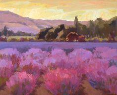 Camille Przewodek, 'Lavender June II'