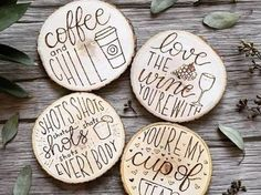Personalize your home and make thoughtful gifts with these amazing wood burning ideas that you can do yourself!