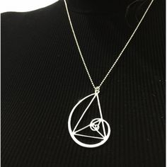 Fibonacci necklace!! I want!