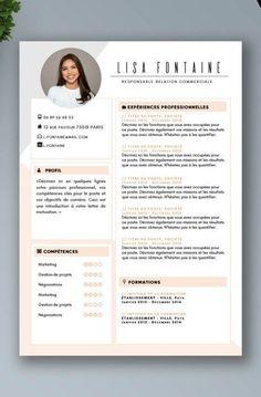 If you like this cv template. Check others on my CV template board :) Thanks for sharing! Creative Cv Template, Modern Resume Template, Resume Design Template, Creative Cv Design, Resume Templates, Conception Cv, Cv Original, Cv Inspiration, Cv Words